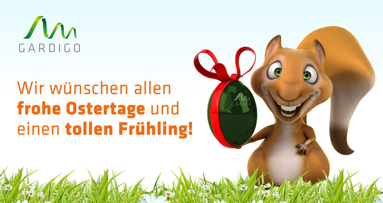 Wir wünschen allen frohe Ostertage und einen tollen Frühling!