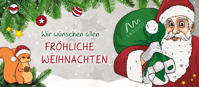 Wir wünschen allen fröhliche Weihnachten!