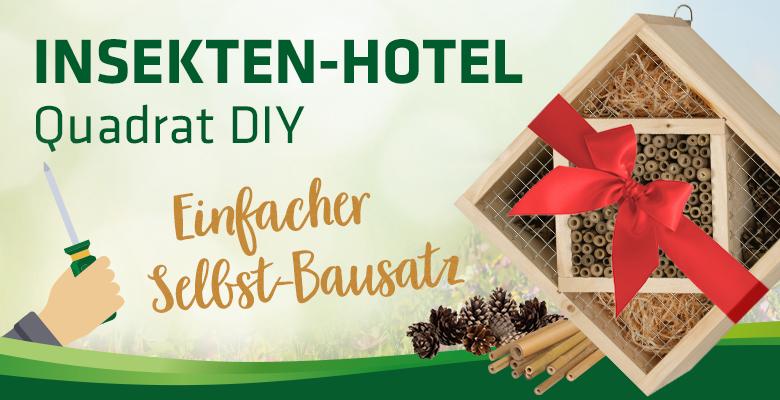 Insekten-Hotel Quadrat DIY